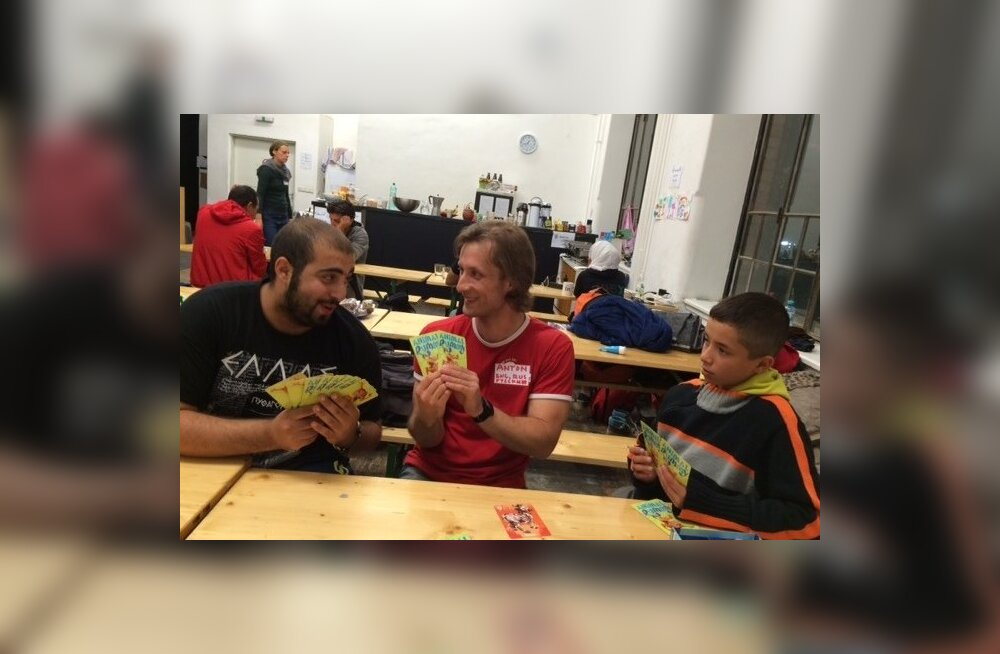 Vabatahtlikuna Viini pagulaskeskuses