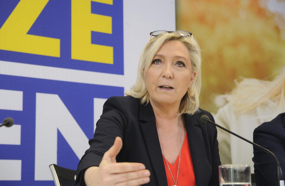 Marine Le Pen külastab varsti Eestit.