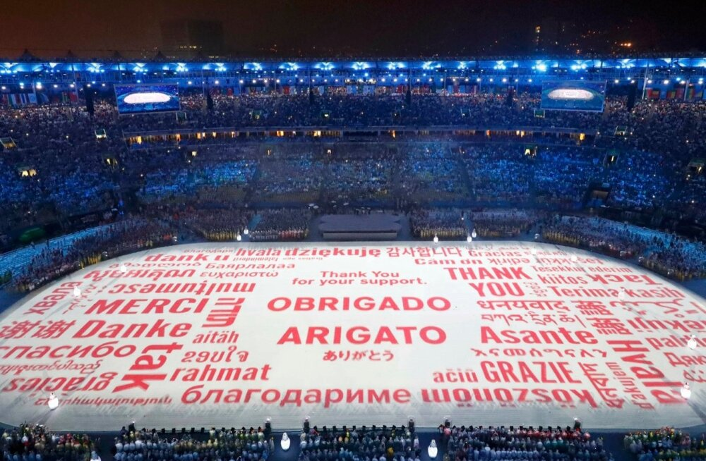 OLYMPICS-RIO/CLOSING
