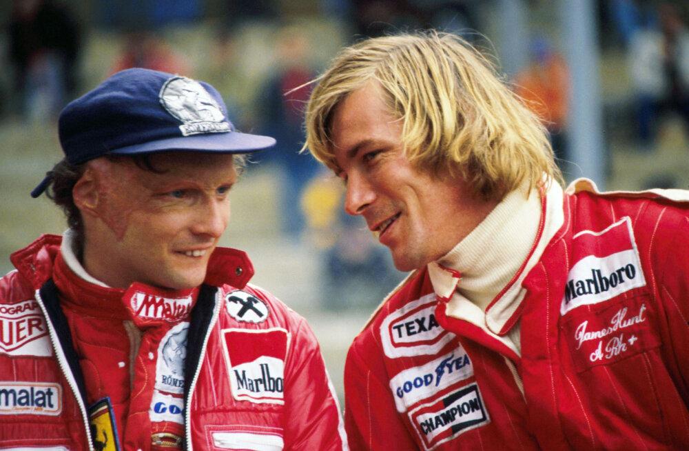 Niki Lauda ja James Hunti pojad lähevad võidusõidurajal vastamisi