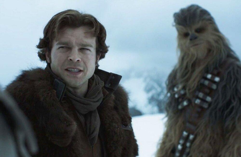 """Probleemne """"Solo: Tähesõdade lugu"""" esilinastub Cannes'i filmifestivalil"""