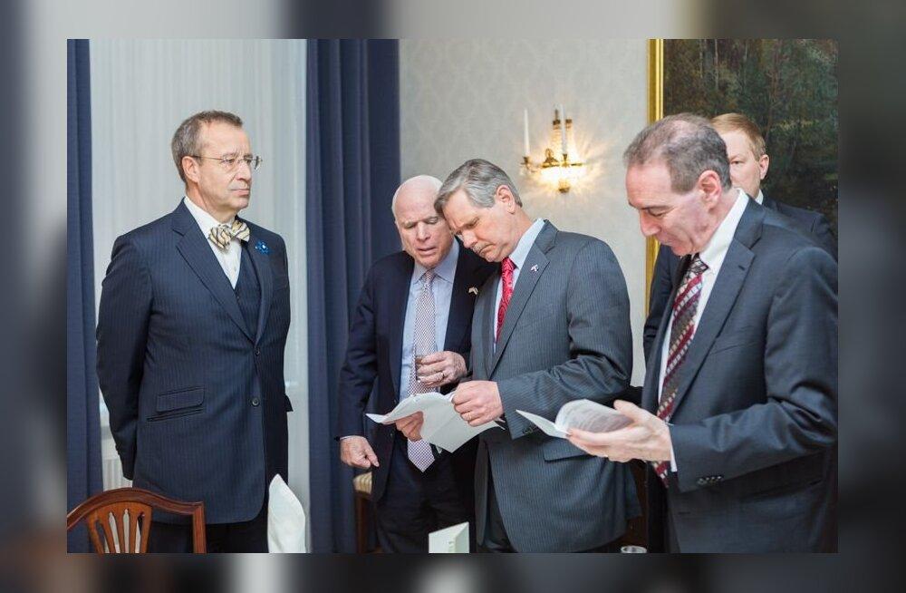 President Ilves ja USA senaatorid: Euroopa Liit ja NATO peavad ühtselt ja jõuliselt seisma vastu Venemaa tegevusele Ukrainas