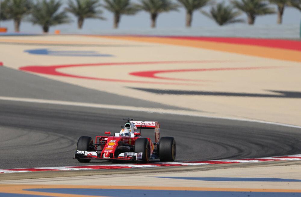 Sebastian Vettel Bahreinis