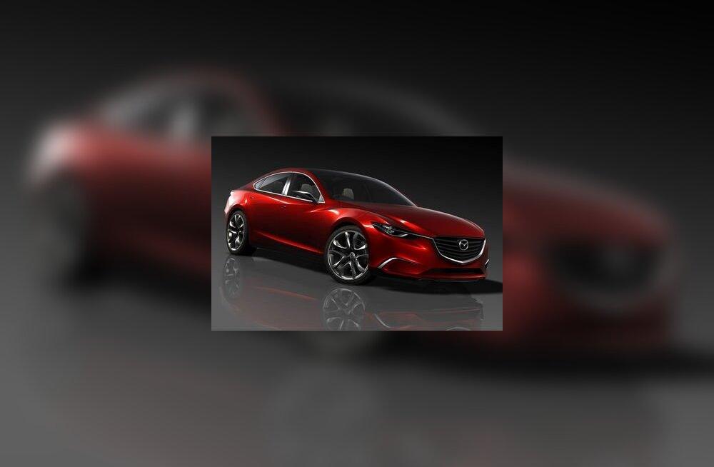 Mazda Takeri näitab end Genfi autonäitusel