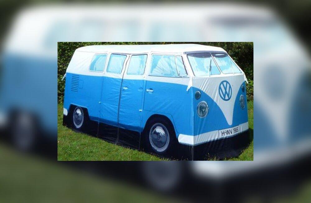 VW hipibusstelk. Kas kutsub ööbima?