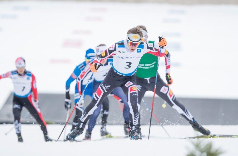 Kahevõistluse FIS Continental sarja võistlus Otepääl