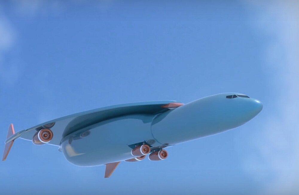 Uus ülehelikiirusel lennuk Concorde 2 viib reisijad Londonist New Yorki ühe tunniga