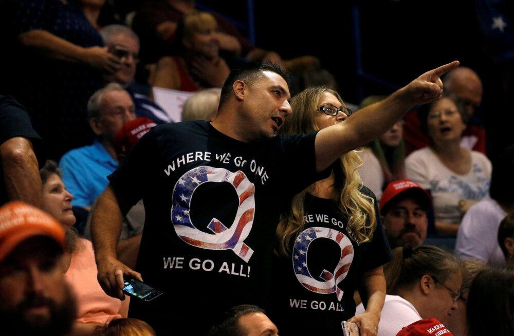 Vandenõuteooria QAnon järgijaid tabas Trumpi vaikse lahkumisega ränk pettumus