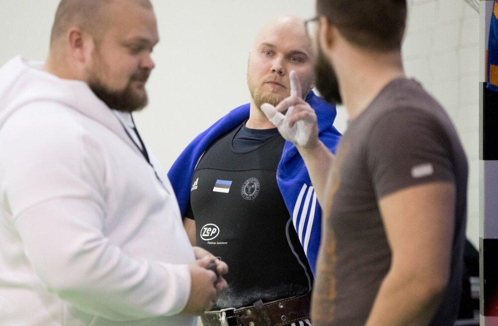 Tõstmise Eesti meistrivõistlused