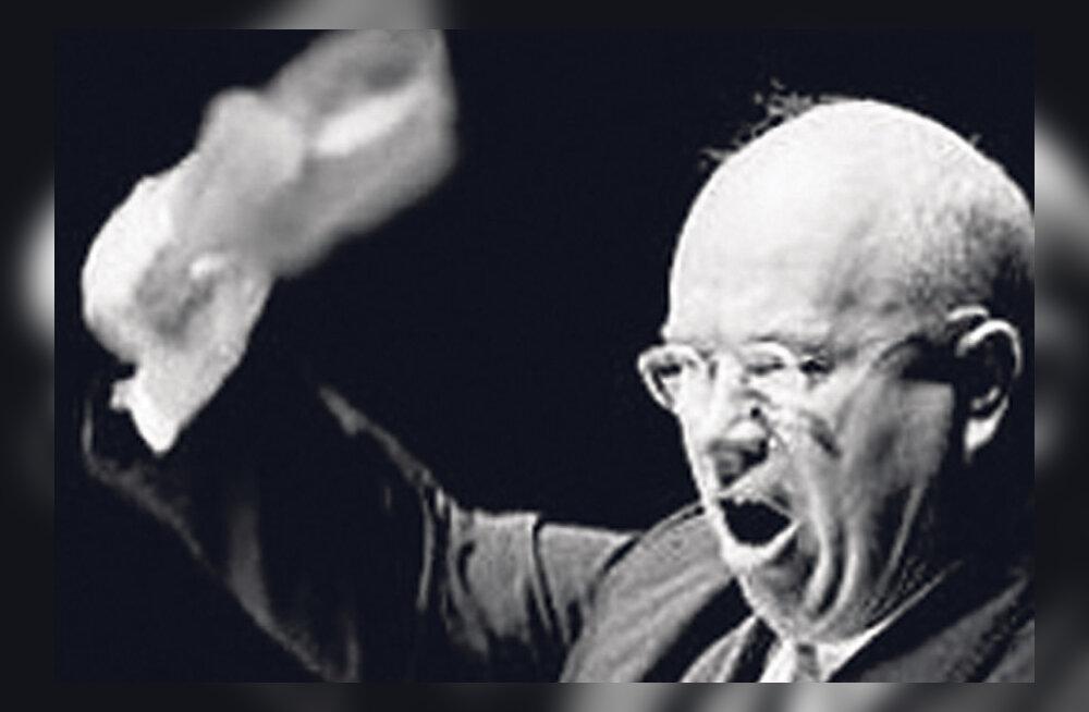 Nikita Hruštšov – parteijuht, kes tunnistas vaid musta ja valget