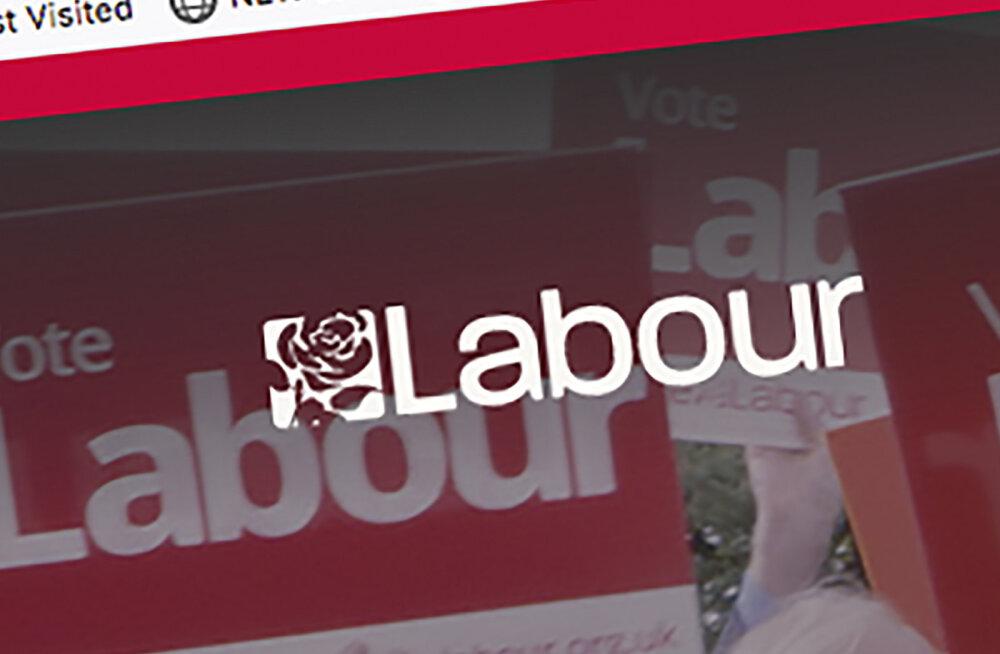 Suurbritannia leiboristliku partei vastu toimus küberrünnak