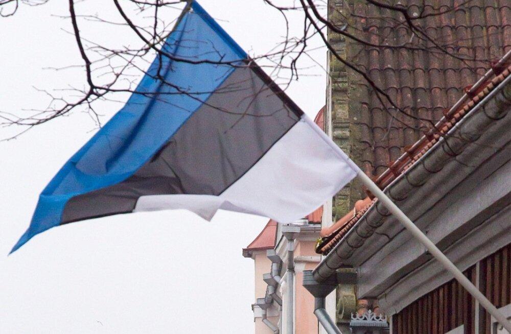 Eesti Vabariigi 97 aastapäeva tähistamine Kuressaares