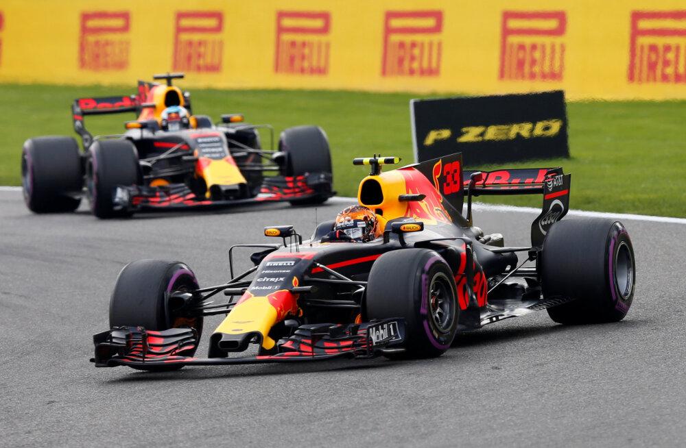 Red Bulli vormel-1 meeskond muudab järgmisel hooajal nime