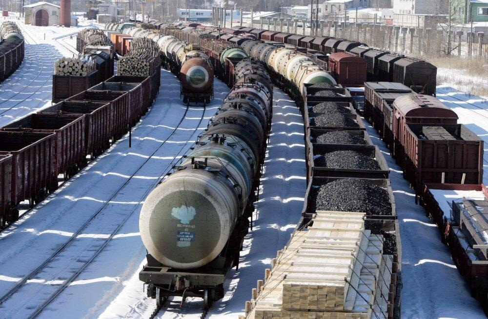 Riigiraudtee kaubaveomaht kahanes aastaga enam kui neljandiku