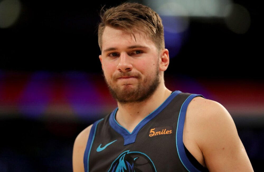 Luka Doncic: NBA-s on lihtsam punkte visata kui Euroopas