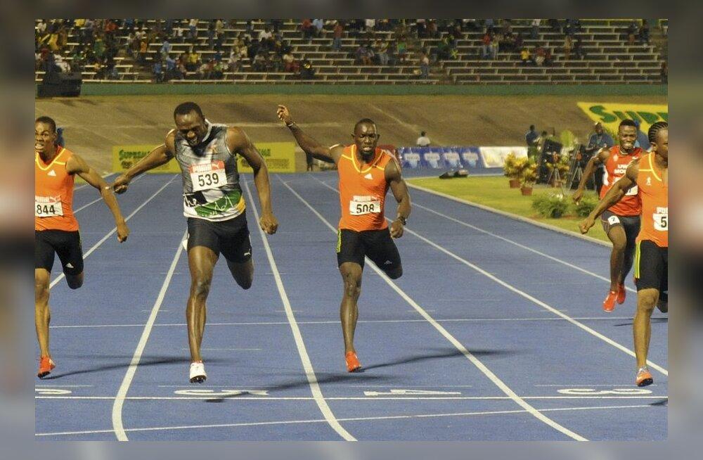 VIDEO: Favoriit! Yohan Blake alistas Usain Bolti ka 200 meetris