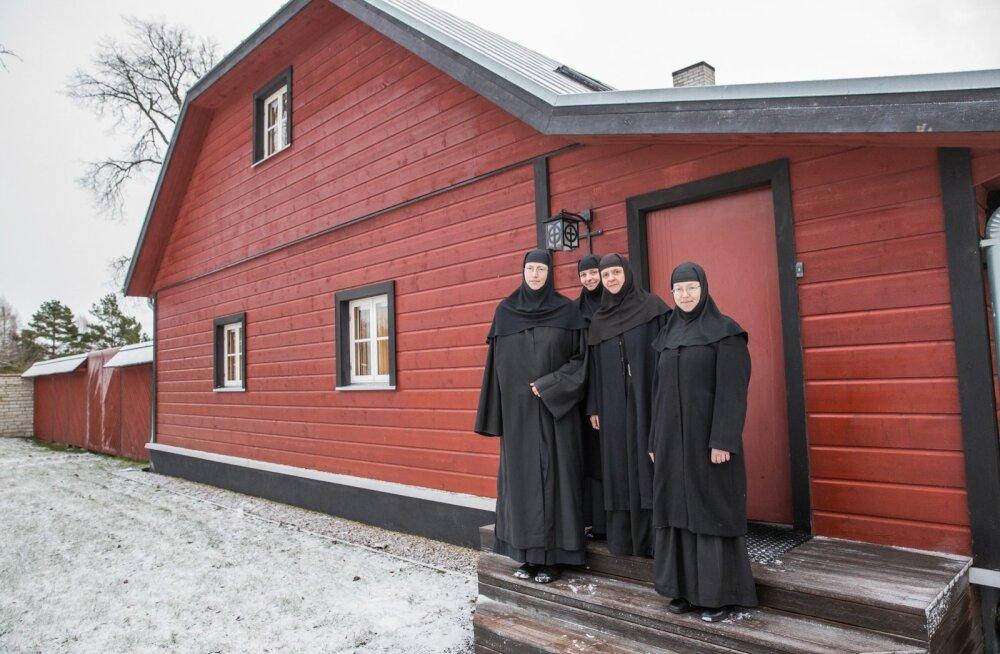 Reomäe nunnakloostri nunnad.