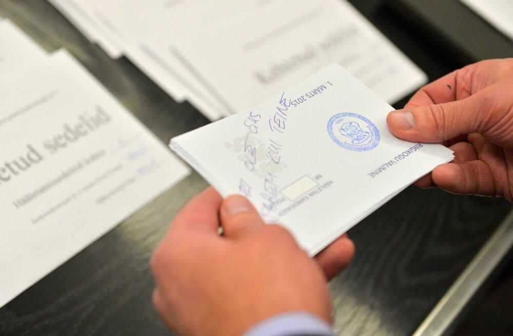 Valimistulemuste kuvamisel tekitasid arusaamatusi välismaal elavate eestlaste e-hääled