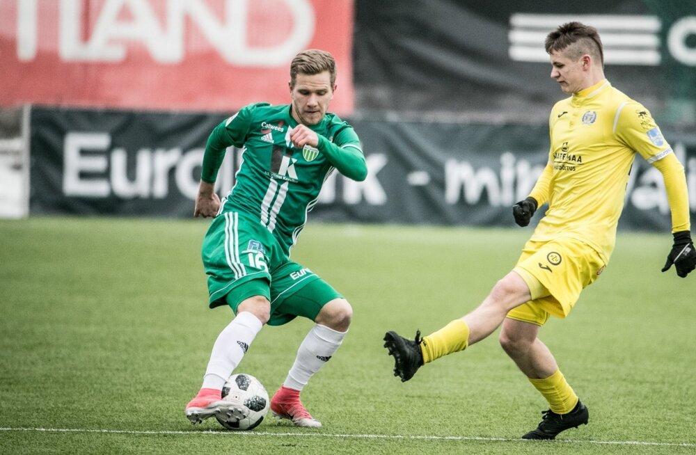 Jalgpalli meistriliiga, Levadia vs Kuressaare