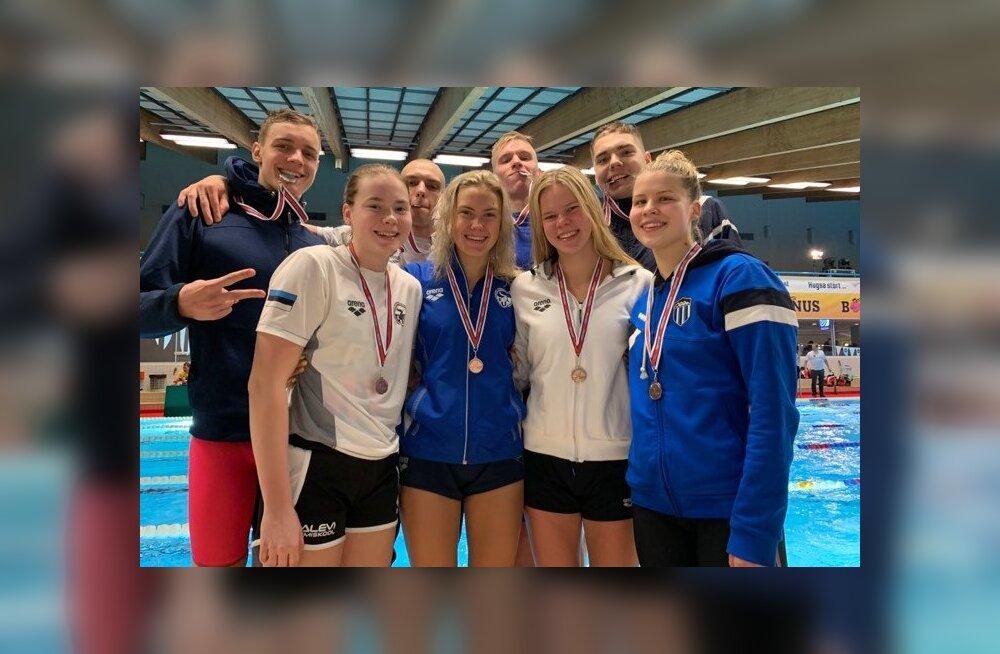 Eesti ujujad Põhjamaade meistrivõistlustel