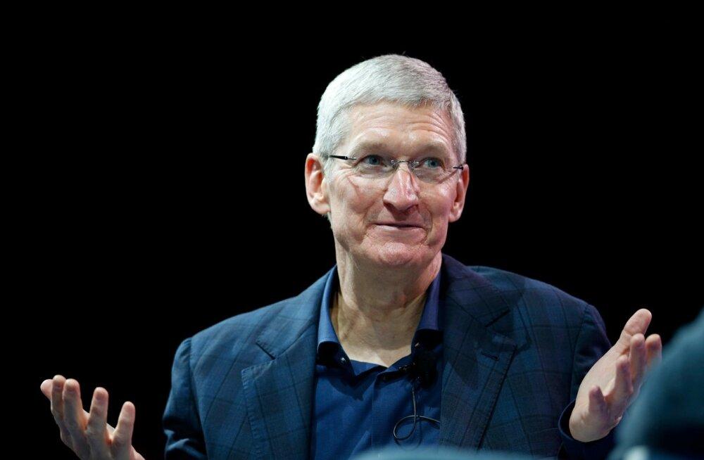 Mida plaanib Apple'i tegevjuht oma varandusega teha?