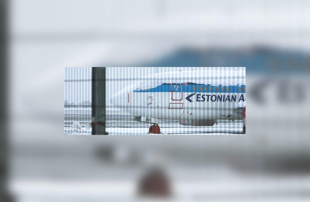 Estonian Air valetas katkise lennuki kohta