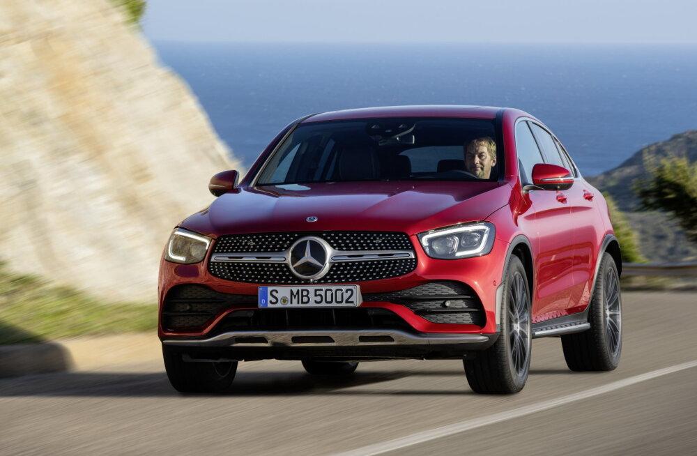 PROOVISÕIT | Uuendatud Mercedes-Benz GLC Coupé
