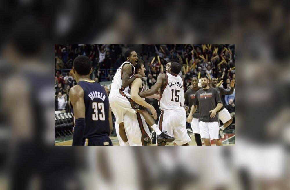 Milwaukee Bucks rõõmustab dramaatilise võidu üle, NBA, korvpall