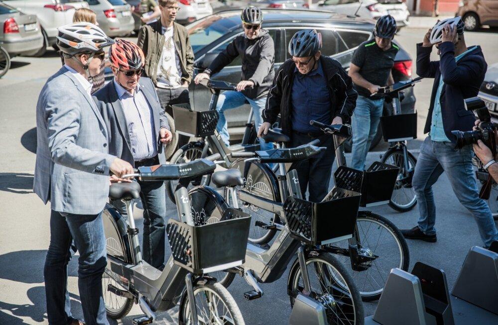 Tartu linnavalitsuse istung ratastel