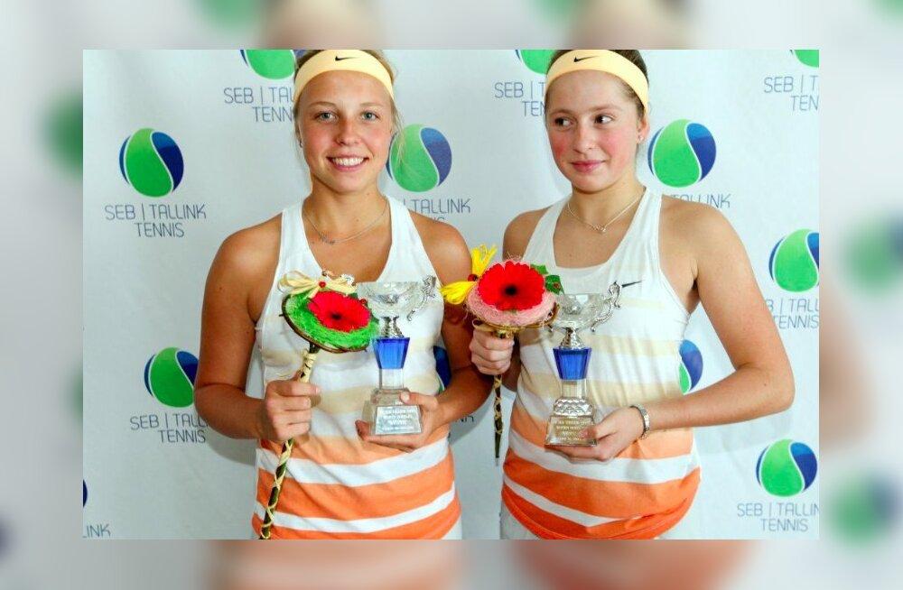 RETROFOTO | Tore meenutus aastast 2013: Kontaveit ja Ostapenko võitsid koos Tallinnas ITF-i turniiri