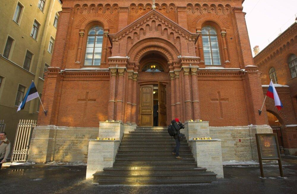 Portaal: Eesti politsei hoiatas Venemaad, et Peterburi luteri kirikus võib olla pomm