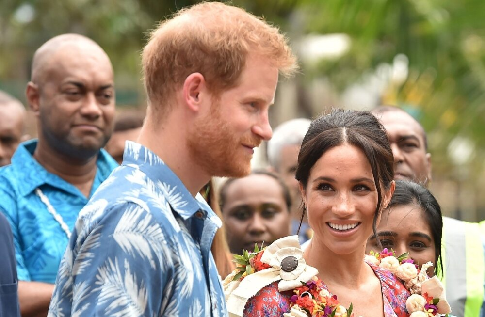 Prints Harry ja Meghan