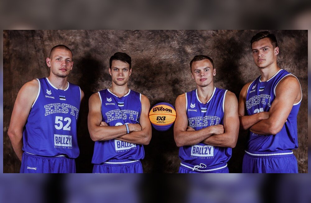 Eesti pääses 3x3 korvpallis maailmameistrivõistlustele