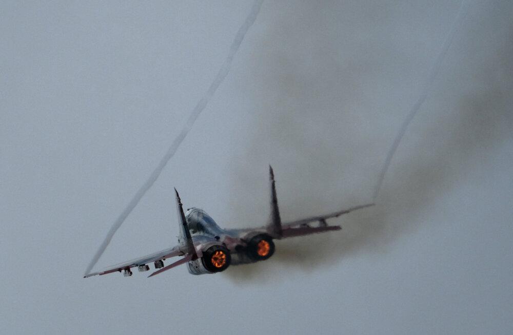 Aserbaidžaani hävitaja MiG-29 kukkus Kaspia merre