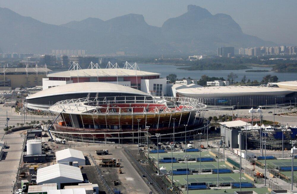 Hooletusse jäetud Rio olümpiapark suleti kohtu otsusega turvakaalutlustel