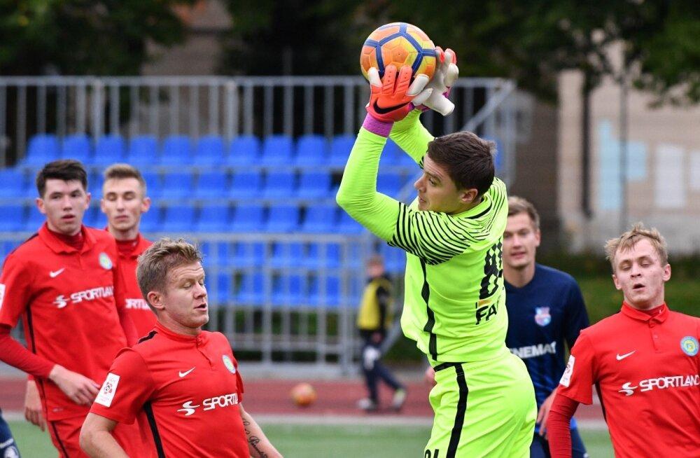 Jalgpall Narva Trans vs Paide LMK 30.09.17