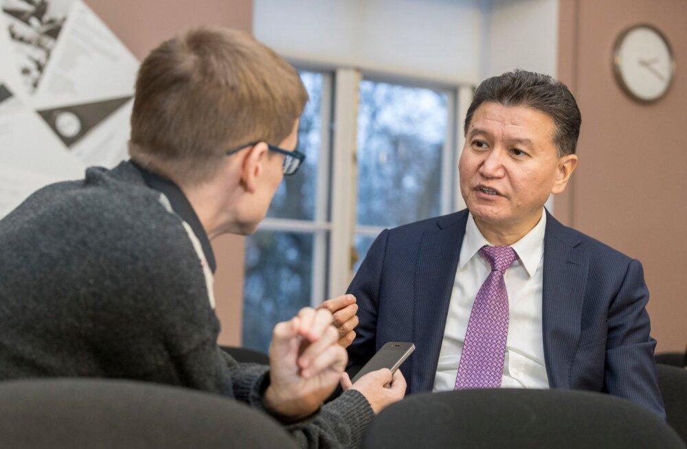 FIDE president Kirsan Iljumžinov kinnitas Tallinnas, et rahul võiks ta oma tegevusega olla siis, kui malet oskab mängida miljard inimest.