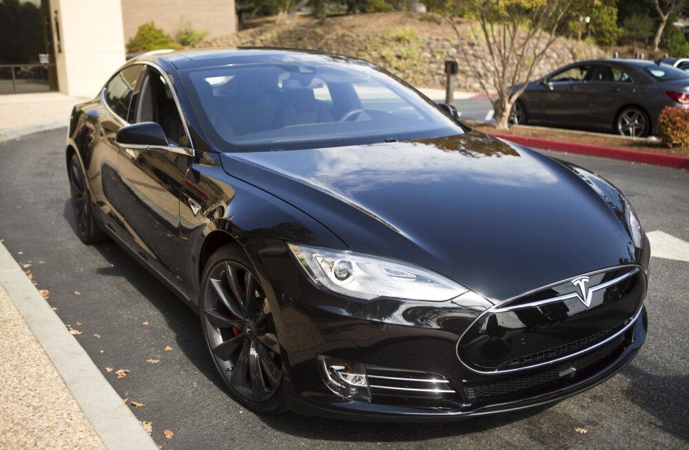 Tesla sedaani tootmine kasvas aastaga 75 protsenti