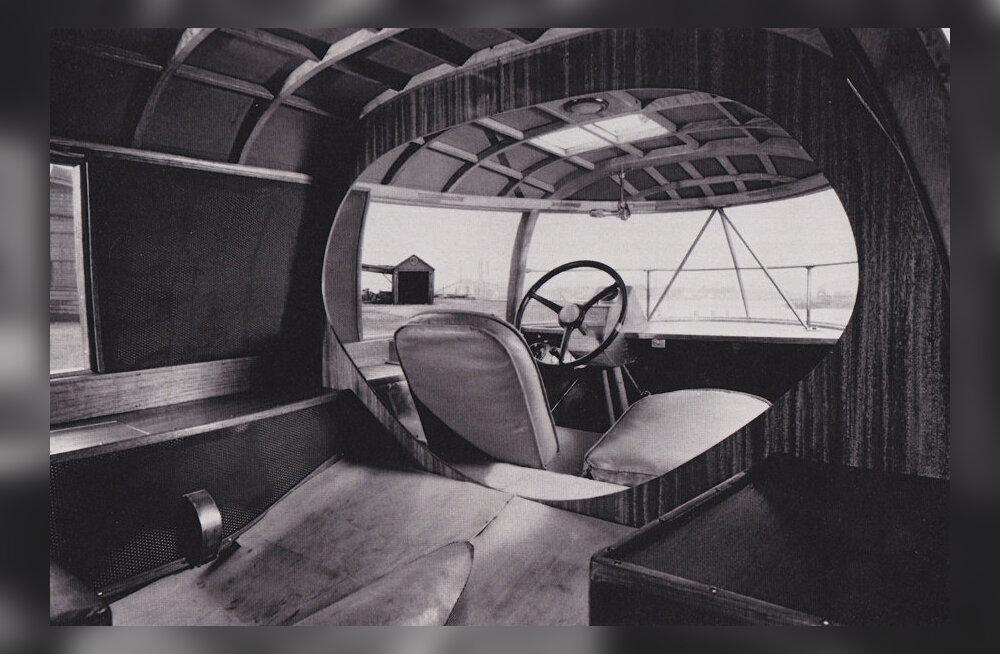 Dymaxion Car'i sisevaade. bolido.com