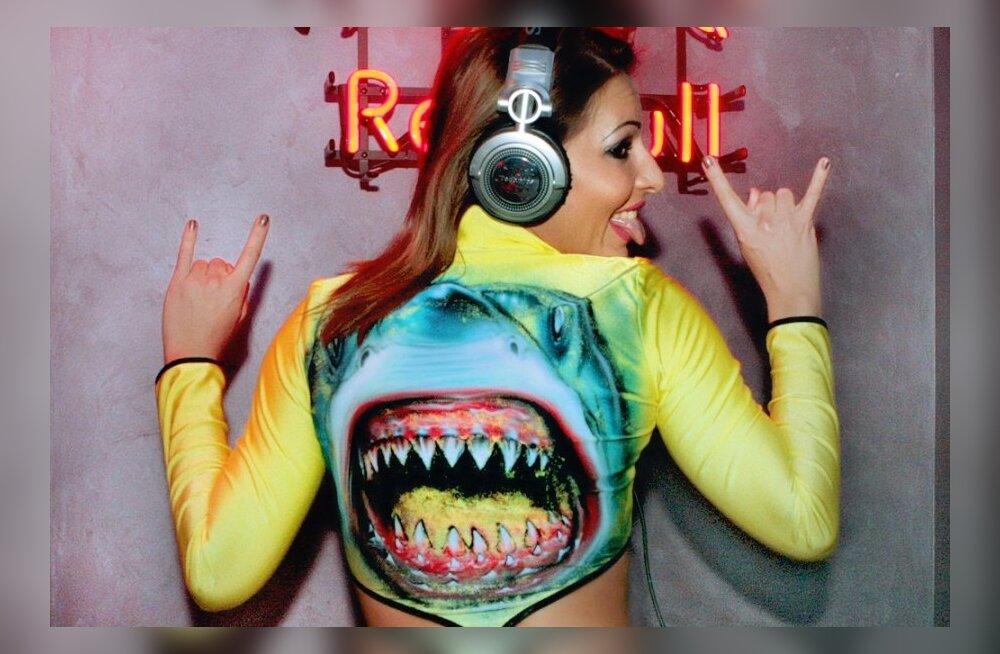 DJ Shark.K. ööklubis Mishka
