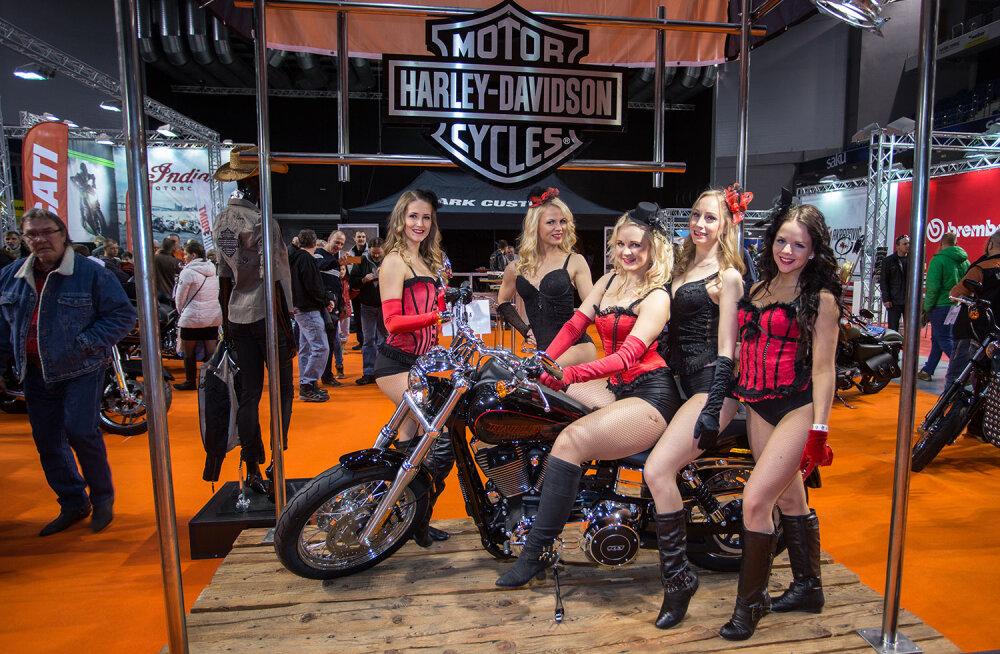 Sel nädalal toimuva motomessi külastajate vahel loositakse välja Harley-Davidsoni tsikkel