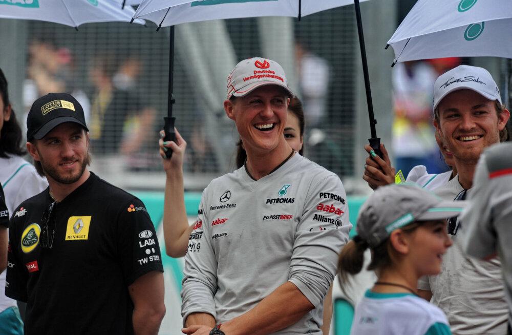 Endine Saksamaa vormelisõitja Schumacherist: ta tegi rajal lollusi, mis on vastuvõetamatud
