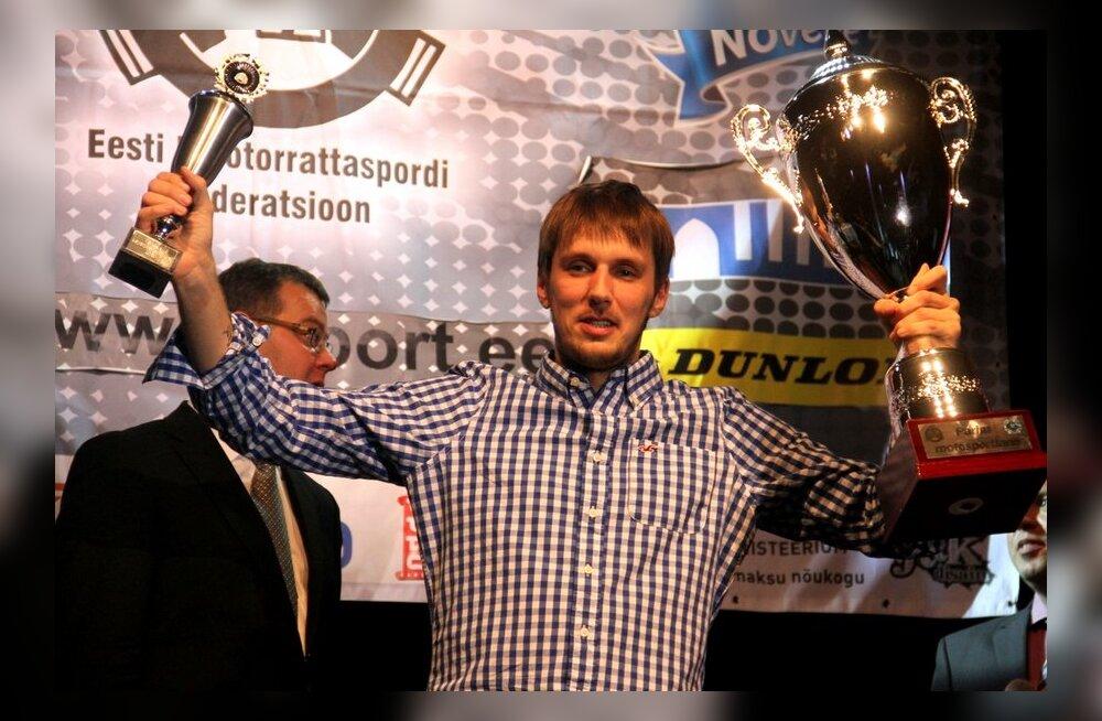 Aasta parim motosportlane on Aigar Leok