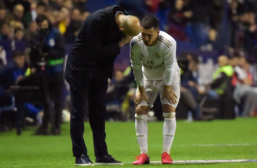 Valus löök Realile: Eden Hazardi jaoks võib hooaeg läbi olla