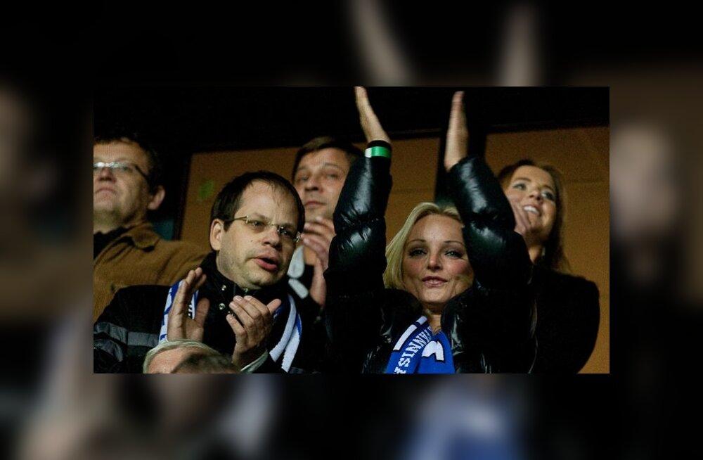 Riigikogus loodi Eesti jalgpalli toetusrühm