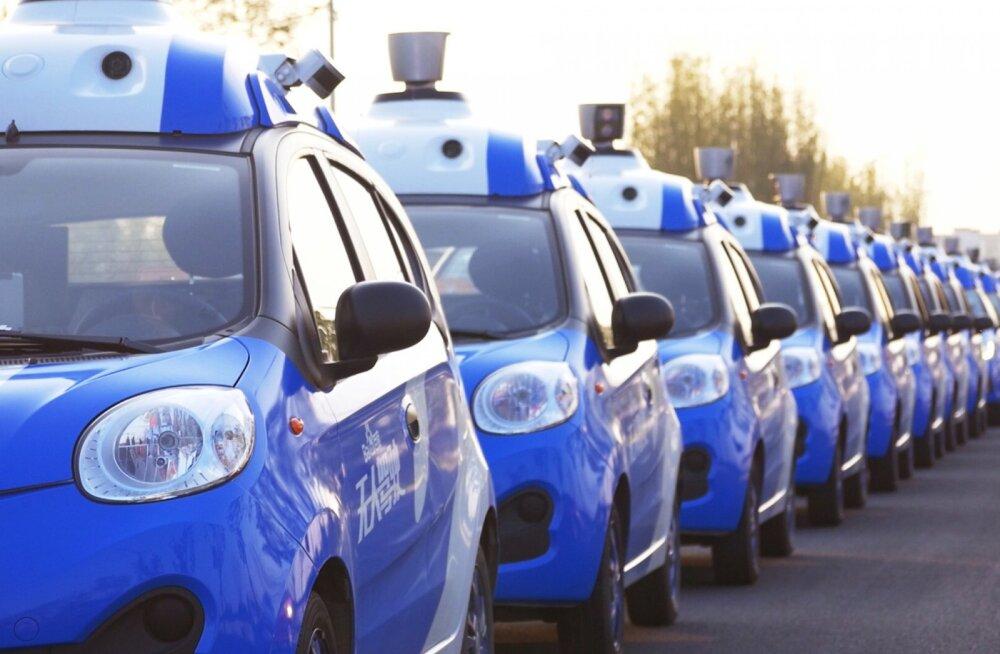 Hiina Google'i isesõitva auto projekt on nii magus, et sai kohe neli tähtsat lääne tegijat kampa