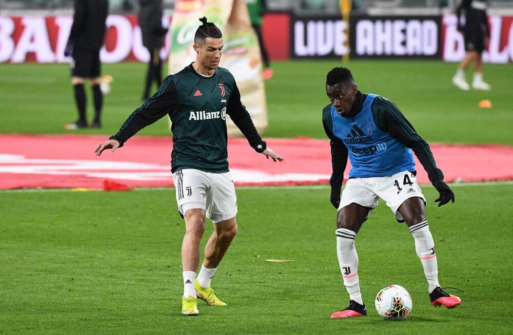 Sümptomiteta Juventuse tähtmängijal tuvastati koroona