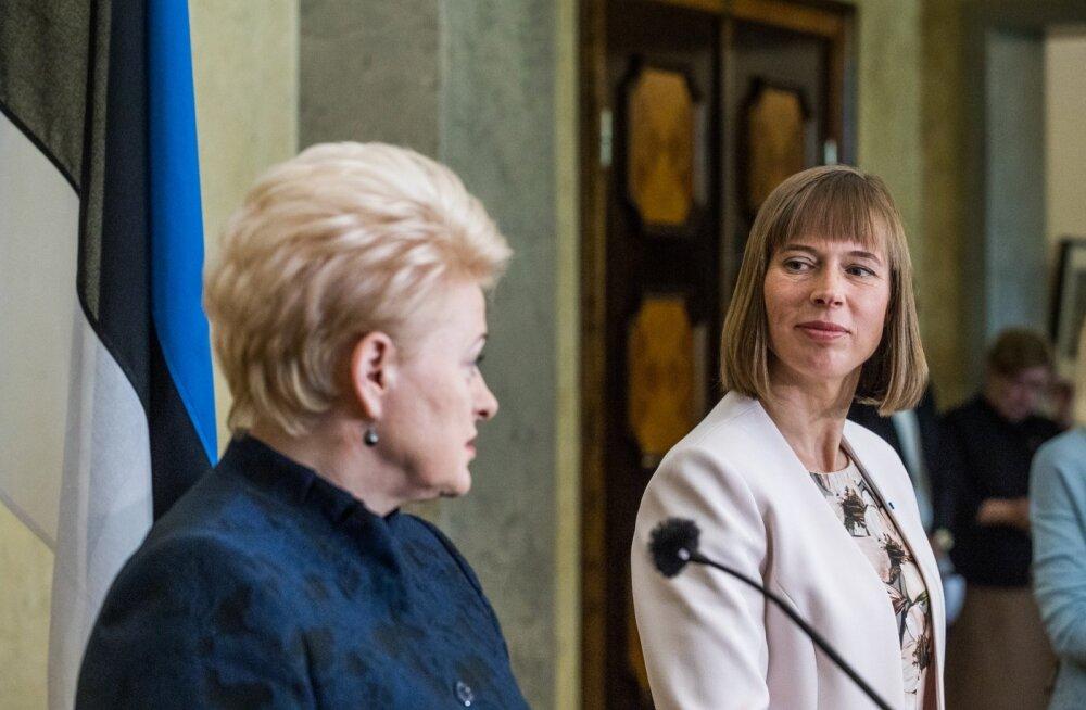 Dalia Grybauskaitė visiit Eestisse