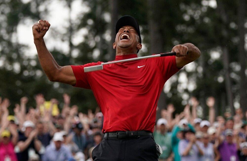 Tiger Woodsi ehe võidurõõm pärast 11 suure tiitlita aastat.
