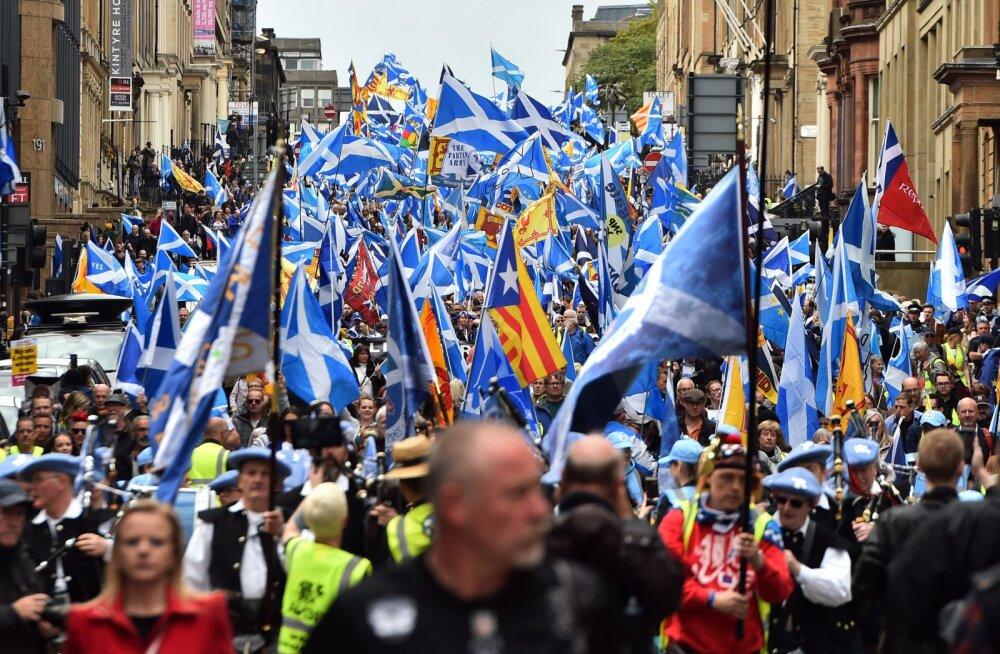 Murranguline uuring: šotlased hääletaks nüüd Suurbritanniast lahkulöömise poolt